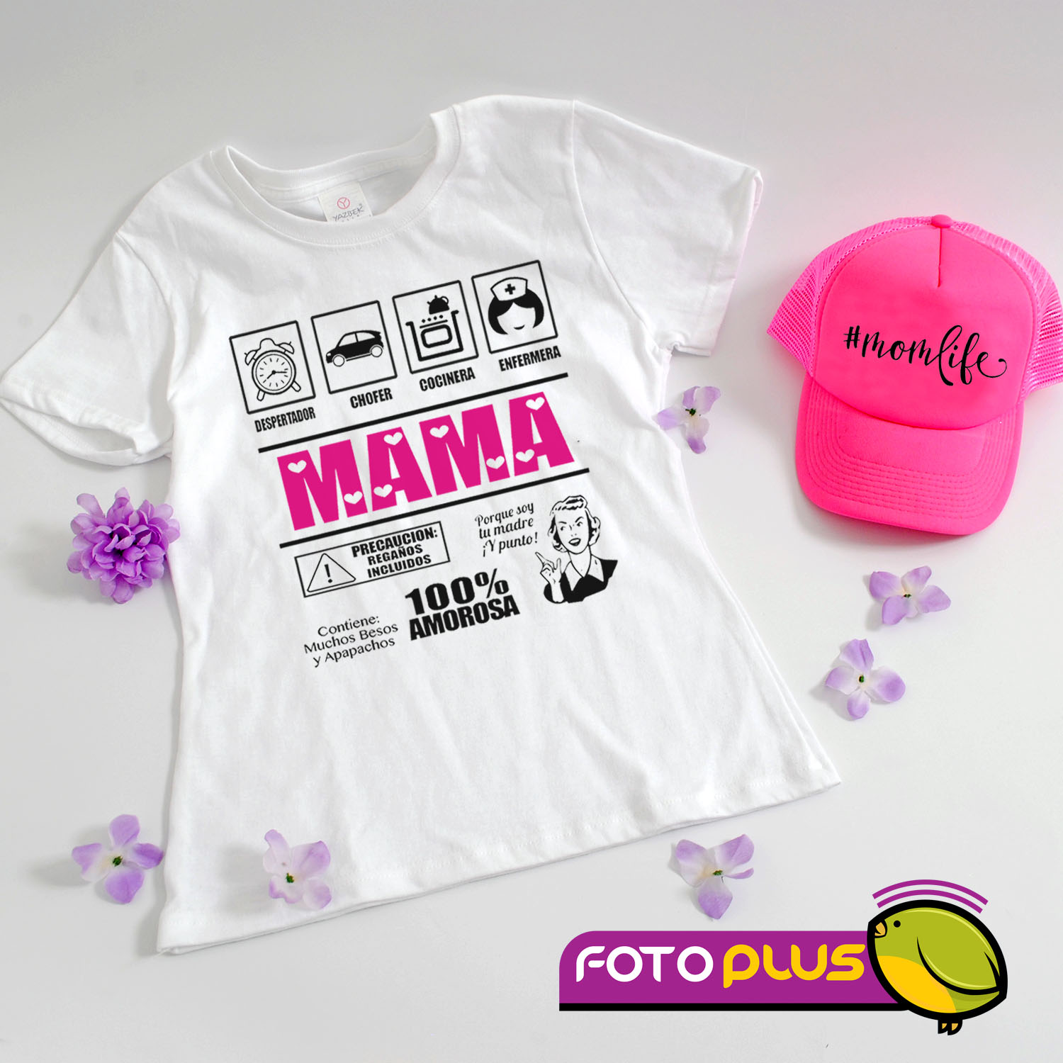 Kit Camiseta+Gorra